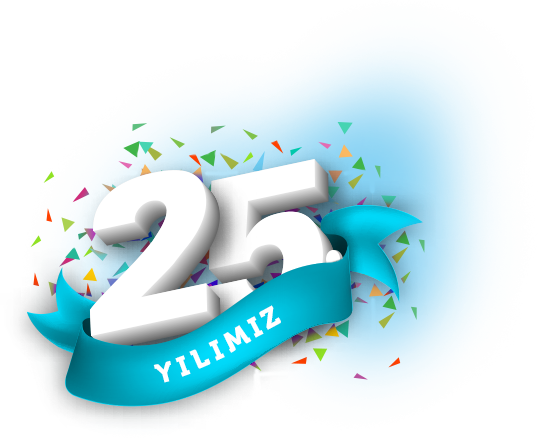 We proudly carried our experience to our 25th Anniversary.